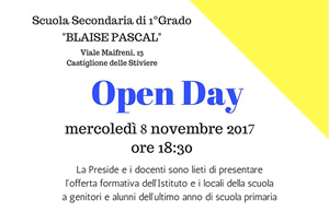 open day scuola media